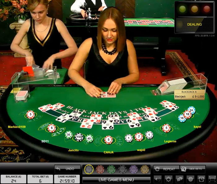 Evolution Gaming Beurteilung - Evolution Gaming Live Dealer